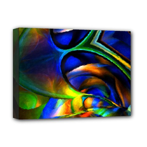 Light Texture Abstract Background Deluxe Canvas 16  X 12