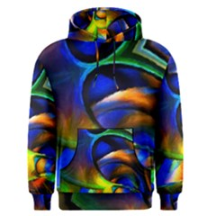 Light Texture Abstract Background Men s Pullover Hoodie
