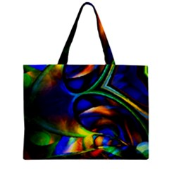Light Texture Abstract Background Zipper Mini Tote Bag