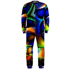 Light Texture Abstract Background Onepiece Jumpsuit (men)
