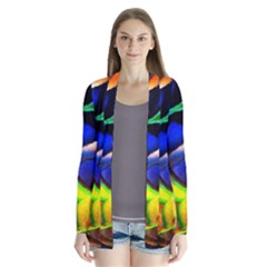 Light Texture Abstract Background Cardigans