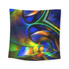 Light Texture Abstract Background Square Tapestry (small)