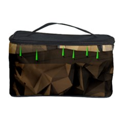 Low Poly Floating Island 3d Render Cosmetic Storage Case