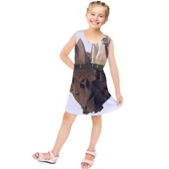 Low Poly Floating Island 3d Render Kids  Tunic Dress