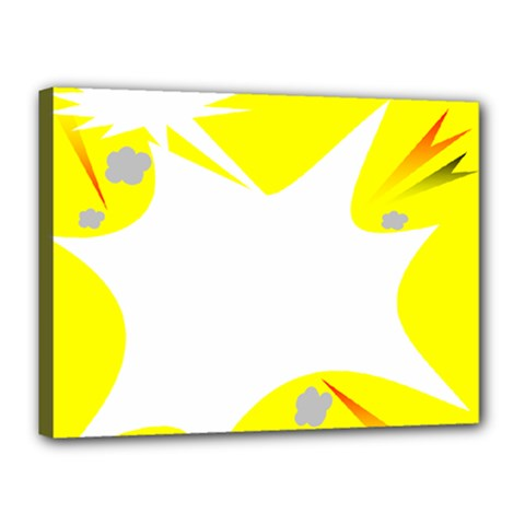 Mail Holyday Vacation Frame Canvas 16  X 12
