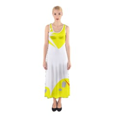 Mail Holyday Vacation Frame Sleeveless Maxi Dress