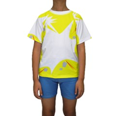 Mail Holyday Vacation Frame Kids  Short Sleeve Swimwear