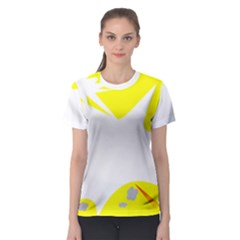 Mail Holyday Vacation Frame Women s Sport Mesh Tee
