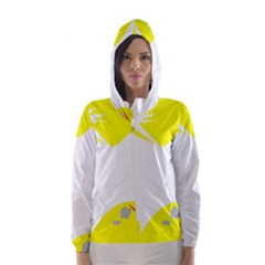 Mail Holyday Vacation Frame Hooded Wind Breaker (women)