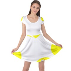 Mail Holyday Vacation Frame Cap Sleeve Dresses