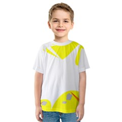 Mail Holyday Vacation Frame Kids  Sport Mesh Tee