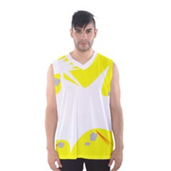 Mail Holyday Vacation Frame Men s Basketball Tank Top