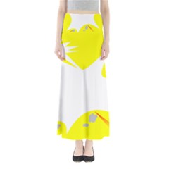 Mail Holyday Vacation Frame Maxi Skirts