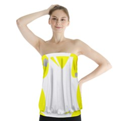 Mail Holyday Vacation Frame Strapless Top