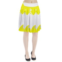 Mail Holyday Vacation Frame Pleated Skirt