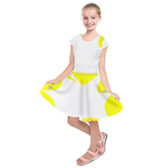 Mail Holyday Vacation Frame Kids  Short Sleeve Dress