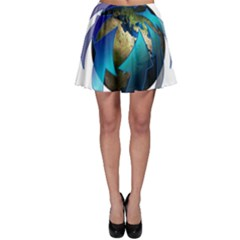 Migration Of The Peoples Escape Skater Skirt