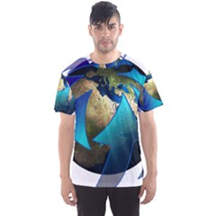 Migration Of The Peoples Escape Men s Sport Mesh Tee
