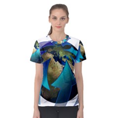 Migration Of The Peoples Escape Women s Sport Mesh Tee