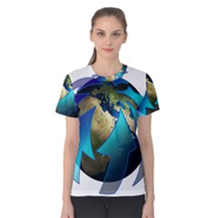 Migration Of The Peoples Escape Women s Cotton Tee