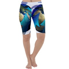 Migration Of The Peoples Escape Cropped Leggings