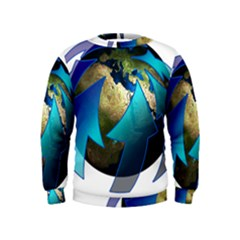 Migration Of The Peoples Escape Kids  Sweatshirt