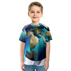 Migration Of The Peoples Escape Kids  Sport Mesh Tee
