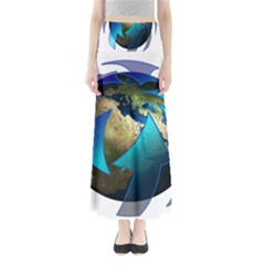 Migration Of The Peoples Escape Maxi Skirts
