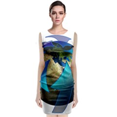 Migration Of The Peoples Escape Classic Sleeveless Midi Dress