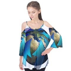 Migration Of The Peoples Escape Flutter Tees