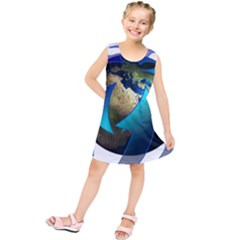 Migration Of The Peoples Escape Kids  Tunic Dress