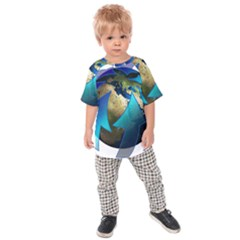 Migration Of The Peoples Escape Kids  Raglan Tee