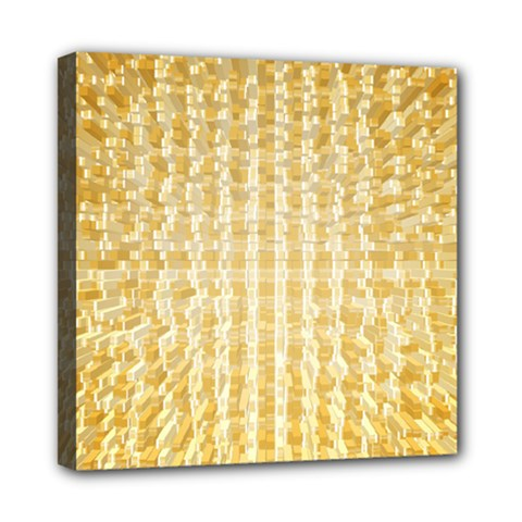 Pattern Abstract Background Mini Canvas 8  X 8