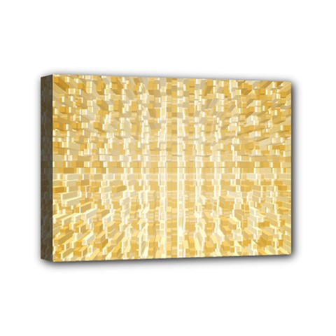 Pattern Abstract Background Mini Canvas 7  X 5
