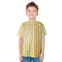 Pattern Abstract Background Kids  Cotton Tee