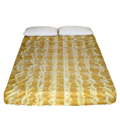 Pattern Abstract Background Fitted Sheet (queen Size)