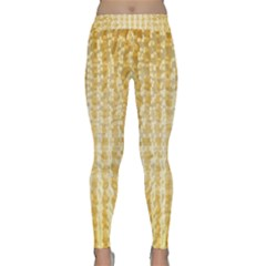Pattern Abstract Background Classic Yoga Leggings