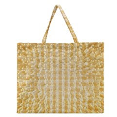 Pattern Abstract Background Zipper Large Tote Bag