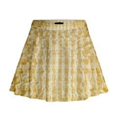 Pattern Abstract Background Mini Flare Skirt