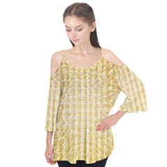 Pattern Abstract Background Flutter Tees