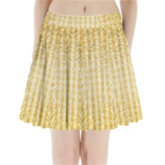 Pattern Abstract Background Pleated Mini Skirt