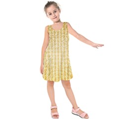 Pattern Abstract Background Kids  Sleeveless Dress