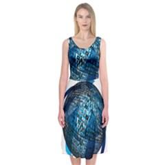 Photo Album Photo Montage About Midi Sleeveless Dress