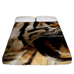 Royal Tiger National Park Fitted Sheet (king Size)