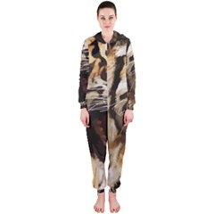 Royal Tiger National Park Hooded Jumpsuit (ladies)