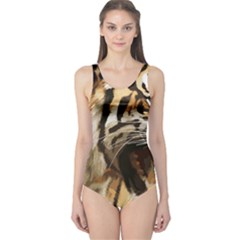 Royal Tiger National Park One Piece Swimsuit