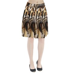 Royal Tiger National Park Pleated Skirt