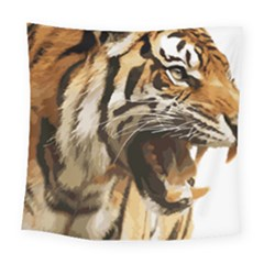 Royal Tiger National Park Square Tapestry (large)