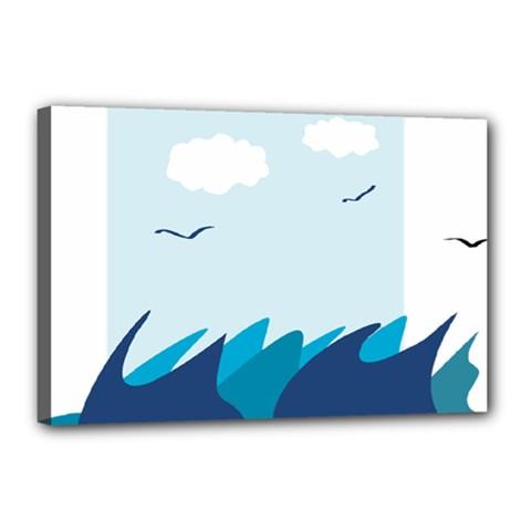 Sea Canvas 18  X 12