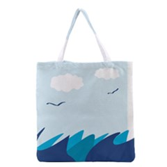 Sea Grocery Tote Bag